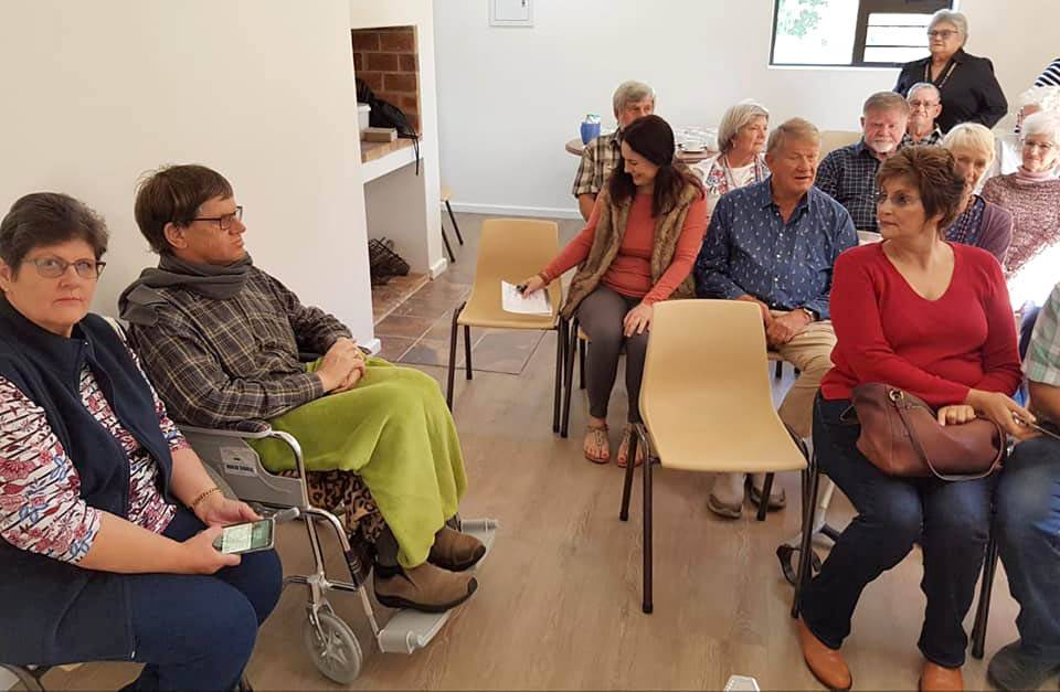 Good turnout at the first Parkinson's support group meeting
